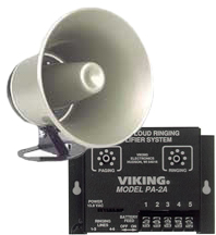 Viking PA and Ringer Two Watt Amplifier and Horn